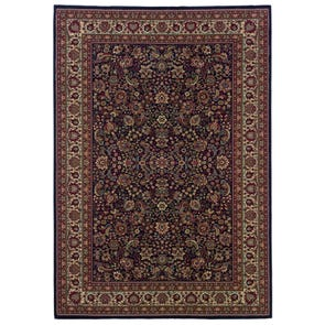 Oriental Weavers Allure 8F Oriental Beige and Brown Area Rug