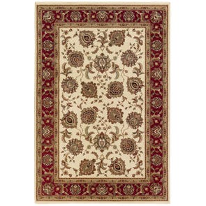 Oriental Weavers Ariana 117D Oriental Brown and Ivory Area Rug
