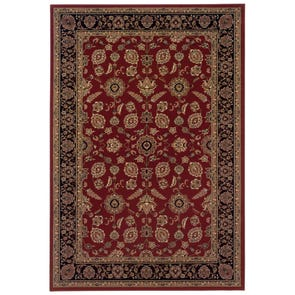 Oriental Weavers Ariana 2153D Floral Blue and Brown Area Rug