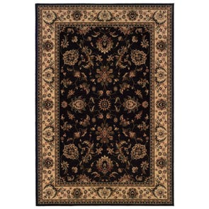 Oriental Weavers Ariana 213G Oriental Green and Ivory Area Rug
