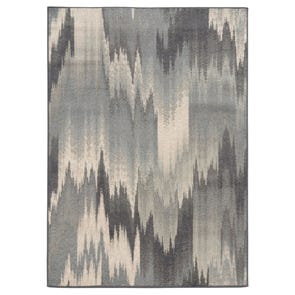 Oriental Weavers Anastasia 68005 Abstract Ikat Beige and Tan Area Rug