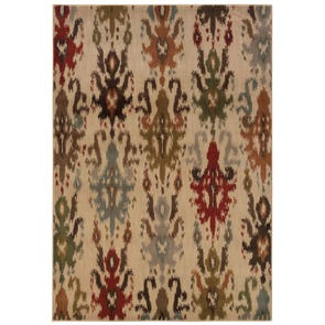 Oriental Weavers Amelia 260X Floral Beige and Red Area Rug