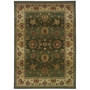 Oriental Weavers Generations 544X Border Red and Beige Area Rug