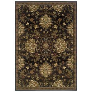 Oriental Weavers Genesis 8025X Abstract Beige and Green Area Rug