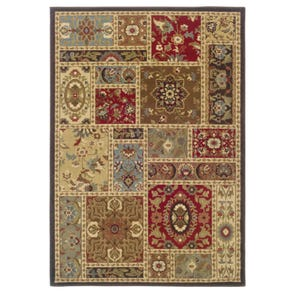 Oriental Weavers Genesis 952W Oriental Beige and Blue Area Rug