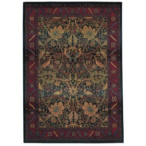 Oriental Weavers Huntington 1983A Abstract Ivory and Green Area Rug