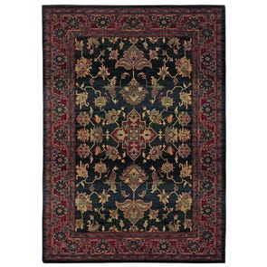 Oriental Weavers Kharma 465R Oriental Red and Green Area Rug