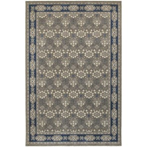Oriental Weavers Richmond 119B3 Oriental Navy and Grey Area Rug
