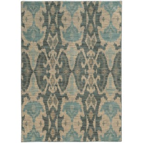 Oriental Weavers Sedona 6371C Abstract Ivory and Grey Area Rug