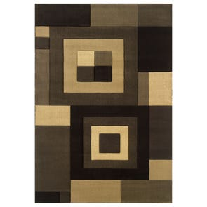 Oriental Weavers Kharma II 890X Abstract Red and Green Area Rug