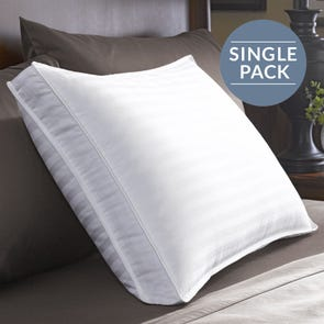 Pacific Coast Feather Restful Nights Down Surround Xtra Firm Density Queen Pillow in White