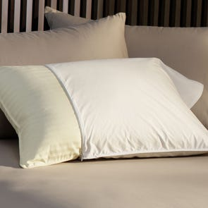 Pacific Coast Feather Restful Nights Essential King Pillow Protector in White