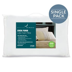 Pacific Coast Feather Restful Nights Even Form Latex King Pillow in White