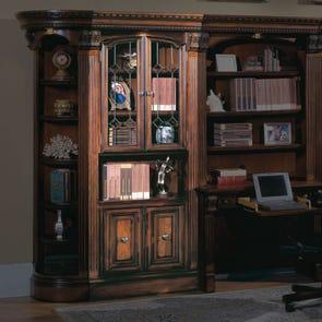 Parker House Huntington Glass Door Bookcase