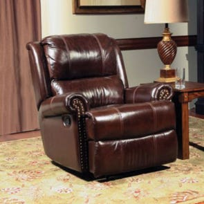 Parker Living Comfort Aries Glider Recliner in Cocoa