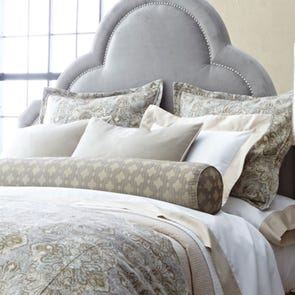 Peacock Alley Baroque Sham in Linen