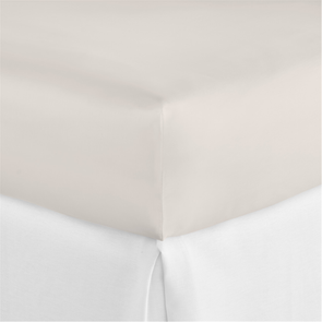 Peacock Alley Lyric Queen Fitted Sheet in Platinum