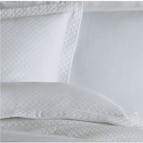 Peacock Alley Oxford Sham in White