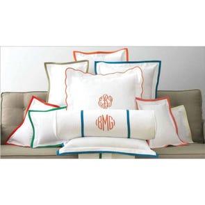 Peacock Alley Pique Decorative Pillow