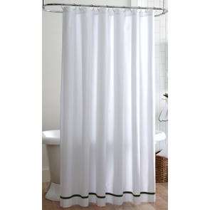 Peacock Alley Pique Shower Curtain