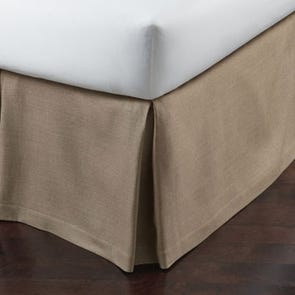 Peacock Alley Rio Satin Stitch Bed Skirt