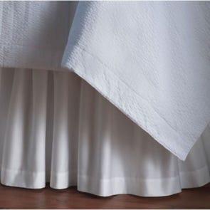 Peacock Alley Soprano Ruffled Bed Skirt