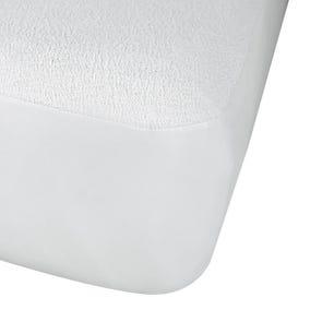 Protect-A-Bed Originals Premium White Cotton Terry Crib Mattress Protector
