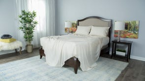 Protect-A-Bed Therm-A-Sleep Essentials Deep Pocket Queen Sheet Set in Cream
