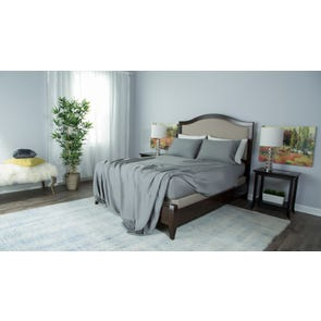 Protect-A-Bed Therm-A-Sleep Essentials Deep Pocket Split California King Sheet Set in Gray