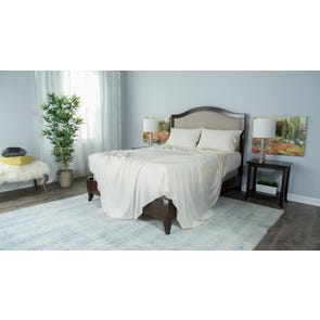 Protect-A-Bed Therm-A-Sleep Essentials Deep Pocket Split King Sheet Set in Cream