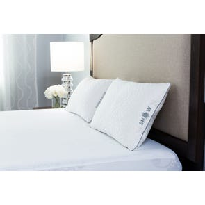 Protect-A-Bed Therm-A-Sleep Snow 28 oz. Firm Bed Pillow