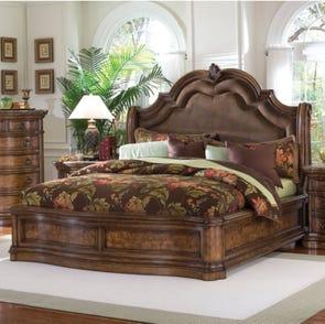 Pulaski San Mateo Sleigh Complete Bed