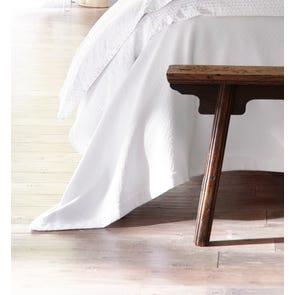 Peacock Alley Amelia Cotton Queen Blanket