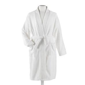Peacock Alley Bamboo Small/Medium Bath Robe in White