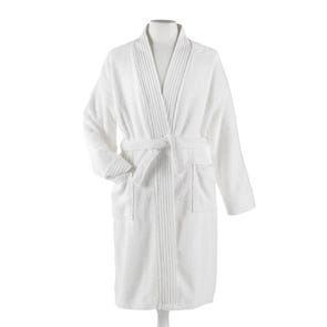 Peacock Alley Bamboo Small/Medium Bath Robe in White