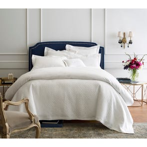 Peacock Alley Charlotte Matelasse Twin Coverlet