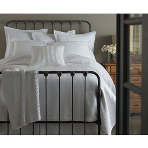 Peacock Alley Oxford Matelasse Queen Coverlet