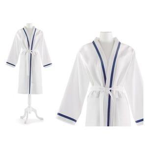 Peacock Alley Pique Small-Medium Bath Robe