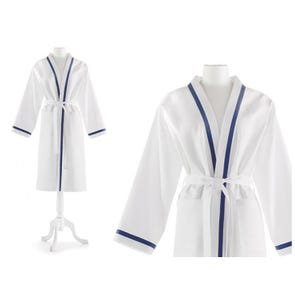Peacock Alley Pique Large-Extra Large Bath Robe