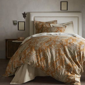 Peacock Alley Provence Paisley King Duvet Cover