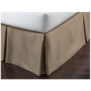 Peacock Alley Rio Linen Queen Bedskirt