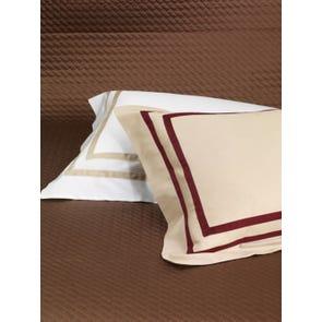 RB Casa Ribot Bed Skirt Pleated Hem in White