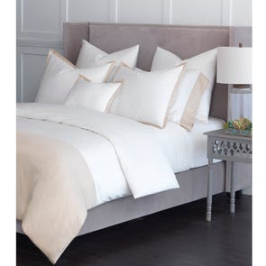 RB Casa Pompei Twin Pleated Bed Skirt