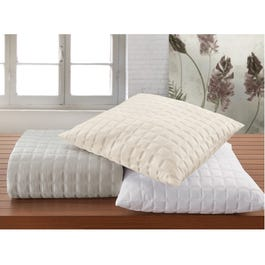 Rb Casa Quadro Queen Quilted Pleated Bed Skirt