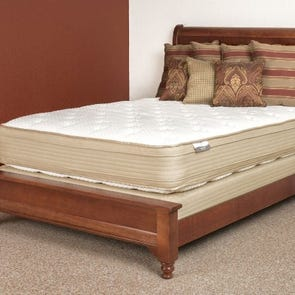 Queen Restonic Comfort Care Andover Pillow Top Double Sided Mattress