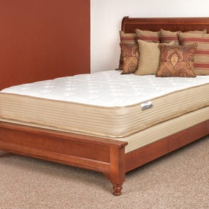 Queen Restonic Comfort Care Andover Plush Double Sided 11.5 Inch Mattress