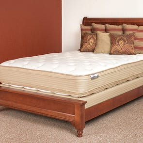 Queen Restonic Comfort Care Brookhaven Pillow Top Double Sided 13.5 Inch Mattress