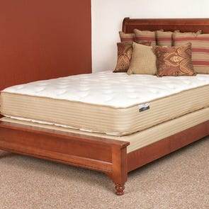 Queen Restonic Comfort Care Brookhaven Plush Double Sided 11.5 Inch Mattress