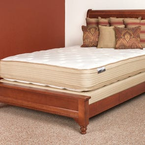 Queen Restonic Comfort Care Chantelle Double Sided Pillow Top 13 Inch Mattress