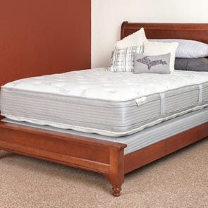 Queen Restonic Comfort Care Select Hampton Double Sided Pillow Top 17.5 Inch Mattress